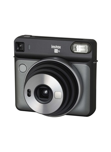 Fujifilm instax SQ 6 Gri-Siyah Fotograf Makinesi ve Hediye Seti 2 Renkli
